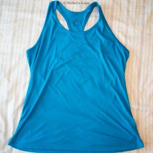 Nike Dri-Fit Solid Blue Tank